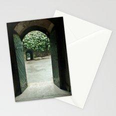 Open Double Door Stationery Cards
