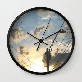 Find me, Summer Sun Wall Clock