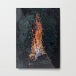A bonefire Metal Print