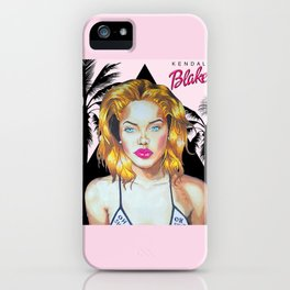Golden Barbie iPhone Case