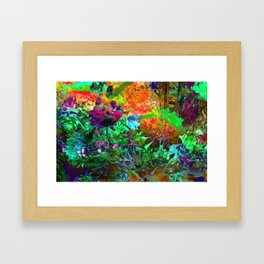 FLORAL SUMMER DREAM Framed Art Print