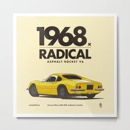 1968 Metal Print