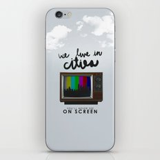 Cities you'll never see on screen - Lorde iPhone & iPod Skin