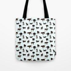 Dog pattern Tote Bag