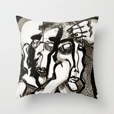 The Two Wonderers Throw Pillow