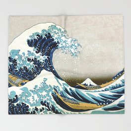 The great wave, famous Japanese artwork Decke