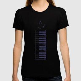 Piano Keys Keyboard Vintage Gifts T-shirt