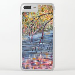 Lazy River Days Clear iPhone Case