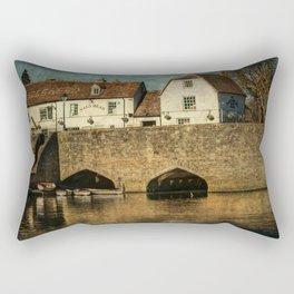 The Bridge At Abingdon Rectangular Pillow