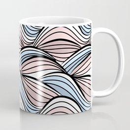 Thread pink blue Coffee Mug