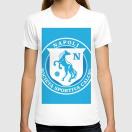 Naples Horse Football badge T-shirt