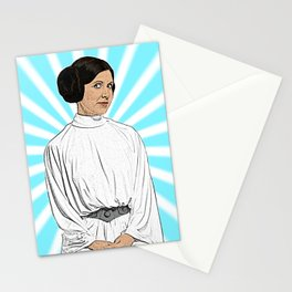 Leia - Comic book style Stationery Cards