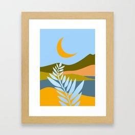 Ojai Nightscape Framed Art Print