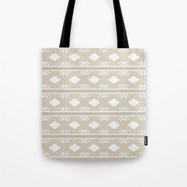 Coffee and Cream Aztec Design Tote Bag