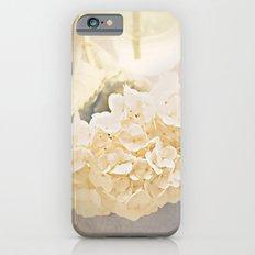 White Hydrangea iPhone 6 Slim Case