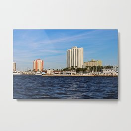 Fort Myers Yacht Basin Metal Print