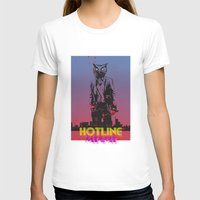 hotline miami T-shirts featuring HOTLINE MIAMI by Bertrand Nadal