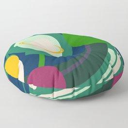 Night Jungle Floor Pillow