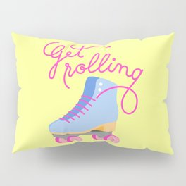 Get Rolling (Yellow Background) Pillow Sham