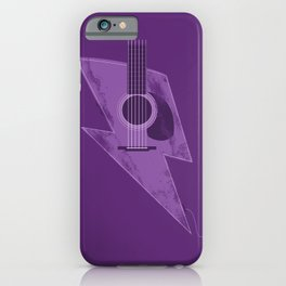 Electric - Acoustic Lightning iPhone Case