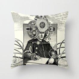 Hadron Collider Throw Pillow