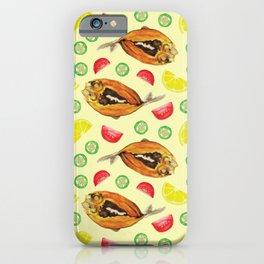 Milkfish Pattern iPhone Case