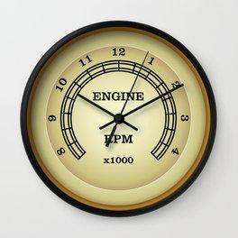 Classic Tachometer Clock Wall Clock