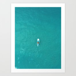 Paddle Art Print