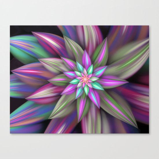 Exotic flower Canvas Print
