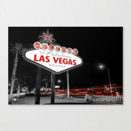 Passing Through - Las Vegas Nevada Canvas Print