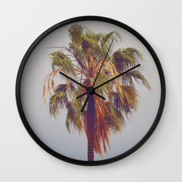 Lone Palm Wall Clock