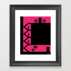 WTF? Close! Framed Art Print