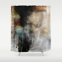hunting Shower Curtains featuring Hunting foxes by Design4u Studio