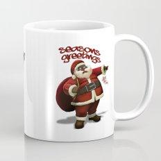 Chocolate Santa Coffee Mug