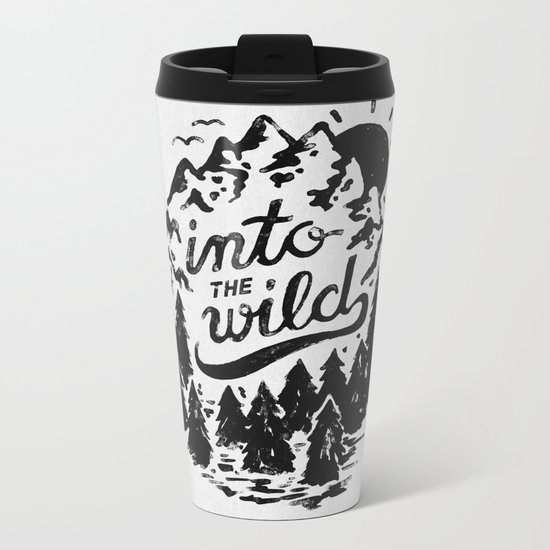 Into The Wild Metal Travel Mug