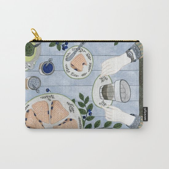 Blueberry Scones Carry-All Pouch
