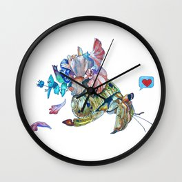 Cancer hermit Wall Clock