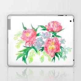 Peonies and Succulents 2 Laptop & iPad Skin