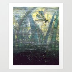 Dragonfly II: Timing Art Print
