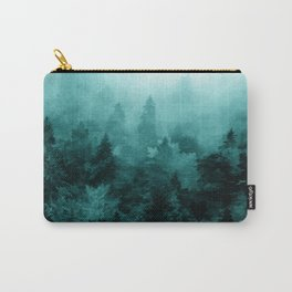 Fractal Forest Carry-All Pouch