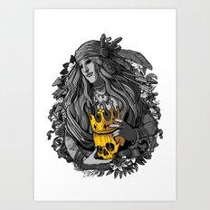 King of nothing Art Print