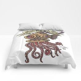 Octopus Diver Comforters