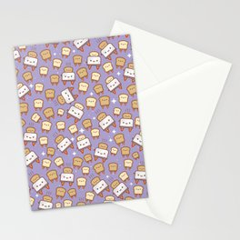Space Toast Stationery Cards