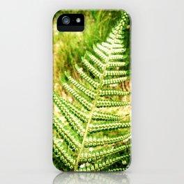 Green Fern iPhone Case
