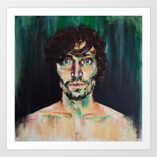 Vincent Gallo Art Print