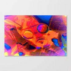 Abstract Gasmask Canvas Print