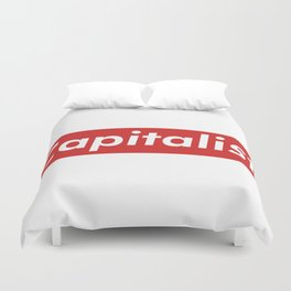 Capitalist Box Logo Duvet Cover