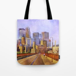 The city is calling my name today. Tote Bag