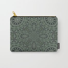 Mosaic in Green Carry-All Pouch