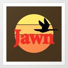 Wawa Jawn Art Print